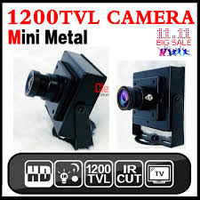 very mini 1 3cmos 1200tvl hd camera metal 3 7mm cone lens super small home color video surveillance products cam have bracket