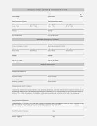 Medical Release Form For Grandparents Now Is The Time For You To Invoice And Resume Template Ideas