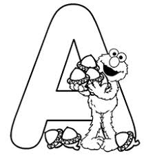 Small Picture Letter A Coloring Pages Free Printables MomJunction