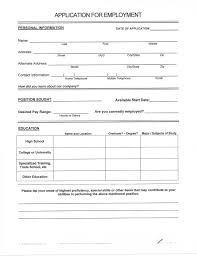 How To Fill Out A Resume Template