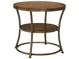 rustic round wood end table round table rustic end tabl on rustic coffee table with wheels