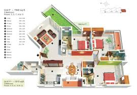 1500 sq ft house plans in 3d modern hd