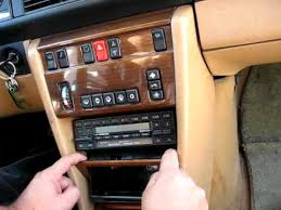 how to remove radio cassette from mercedes e se se how to remove radio cassette from 1987 mercedes 300e 300se 500se for repair
