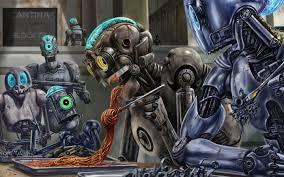 robot wallpaper 7