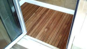 teak shower floor inserts wood mat mats ideas wooden flooring insert