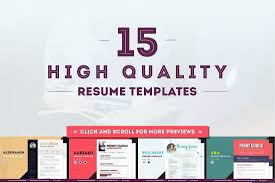 picture resume templates the best cv resume templates 50 examples design shack