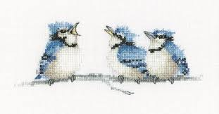 The Blues Valerie Pfeiffer Counted Cross Stitch Kits