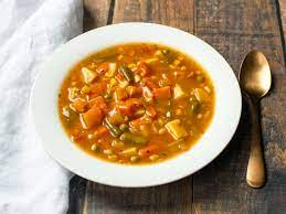 pressure cooker hearty vegetable soup