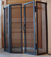 accordion glass doors with screen. the rumford store -- folding glass screen accordion doors with