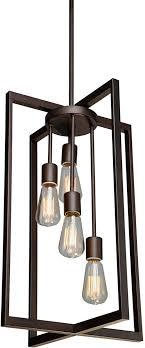 artcraft ac10414 gastown modern oil rubbed bronze 15 nbsp foyer light fixture loading zoom