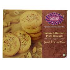 Buy Karachi Bakery Almond Pista Biscuits 400 Gm Online In Uae Abu