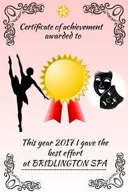 Dance Award Certificate Dance Certificate Award Template Postermywall