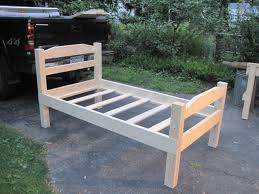 adorable twin size bed frame wood how to build a twin bed frame how to build
