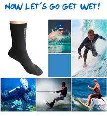 1 Pair 3mm Adult Unisex Neoprene Diving <b>Scuba Surfing</b> ...