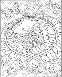 Difficult Coloring Pages Mermaid