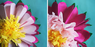 Tissue Paper Flower How To Make A Tissue Paper Flower A Dazzling Tutorial