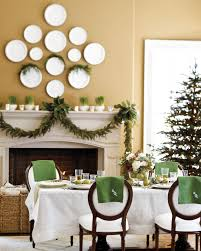hang plates on a wall over a mantel