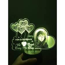 Đèn led khắc hình cá nhân, led khắc hình theo yêu cầu, quà tặng tình yêu,  quà tặng người thân, quà tặng sinh nhật