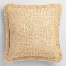 Fringed Hermosa Outdoor Throw Pillow