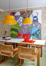 dining wall art ideas. vibrant and colorful dining room wall art ideas d