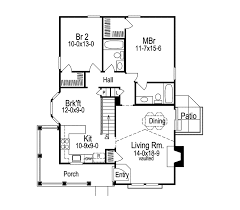 Our cottage house plans include designs with bungalow and craftsman characteristics, typically on the smaller side and with one or 1.5 stories, although there are also some larger plans that fit into this category. Springdale Country Cabin Home Plan 007d 0105 House Plans And More
