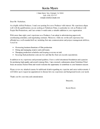 Best Media & Entertainment Cover Letter Examples | LiveCareer