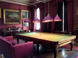 elegant old english billiards room - Google Search