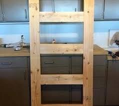 shelves door how to build a leaning door shelf when you don t have an old shelves door