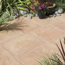 Wonderful Exterior Garden Decoration Design In Outdoor Patio Flooring Ideas  : Good Looking Exterior Garden Decoration