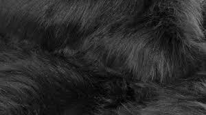 homeroots entry mudroom hudson faux fur 2 x3 rectangular rug black