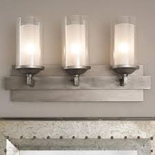 bathrooms lighting. iron strip vanity light 3 bathrooms lighting