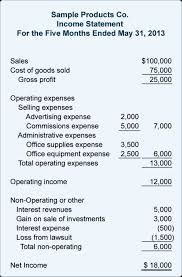 Sample Personal Balance Sheet Sample Financial Statement For Non Profit Organizations And