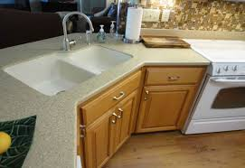 solid surface countertops. 50 Solid Surface Kitchen Countertops