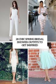 28 Chic Spring Bridal Shower Outfits To Get Inspired Weddingomania