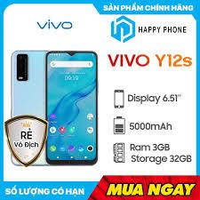 Điện thoại Vivo Y12s 3GB32GB - Hàng Chính Hãng, Nguyên Seal, Bảo hành 12  tháng [ĐƯỢC KIỂM HÀNG] 40881950 - 40881950 | Điện thoại Smartphone
