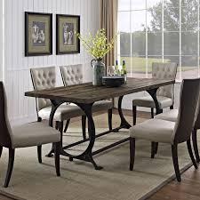 Rod Iron Kitchen Tables Innovative Ideas Iron Dining Table Outstanding Wrought Iron