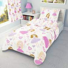 pink fairy girls baby bedding set duvet covers for cot cot bed toddler