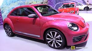 pink volkswagen beetle 2014. volkswagen beetle pink edition concept exterior and interior walkaround 2015 new york a youtube 2014