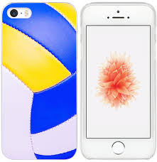 Best Designer Iphone 5 Cases 5s Case Case For Iphone Se Volleyball Design Iwone Designer Non Slip Rubber Durable Protective Skin Transparent Cover Shockproof Compatible For Iphone