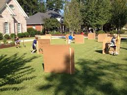 homemade outdoor games for kids. DIY Nerf Gun Game...these Are The BEST Backyard Game Ideas For Kids Homemade Outdoor Games
