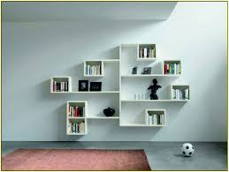 Wall Mount Bookcase Wall Mounted Bookcase Shelves Home Design Ideas