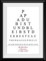 Poster A4 Bester Papa Spruch Vatertag Geschenk Geburtstag