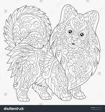 Forest Animal Coloring Page Chinese New Year Animals Coloring Pages Mst Dn Me