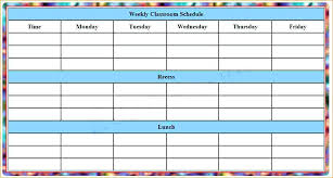 plan daily schedule weekly schedule template printable blank daily schedule printable