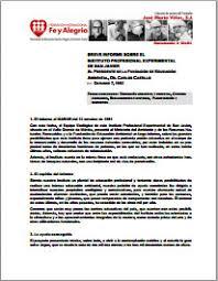Informe Profesional Breve Informe Sobre El Instituto Profesional Experimental De San