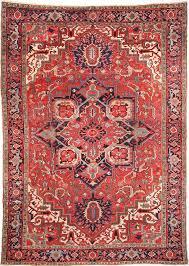 cyrus artisan antique persian serapi rug
