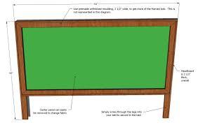 king size framed upholstered headboard