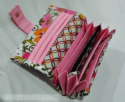 Free Wallet Patterns Beauteous Accordian Long Wallet Sewing Projects BurdaStyle