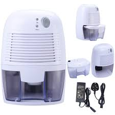 Small Dehumidifier For Bedroom 500ml Mini Dehumidifier Air Dryer Damp Peltier Portable Home