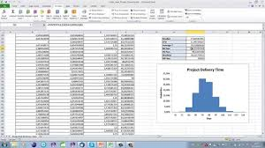 high level project schedule high level project planning using monte carlo simulation youtube